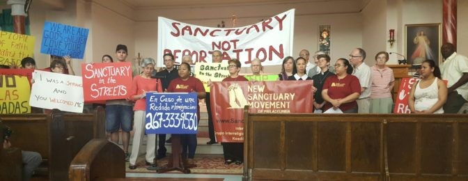 """SANCTUARY  MOVEMENT"" : VERA RESISTENZA"